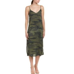 Splendid camo green dress